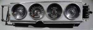 1964  Plymouth Fury     hastighetsmätare, tankmätare, ampärmätare, tempmätare, värmereglage