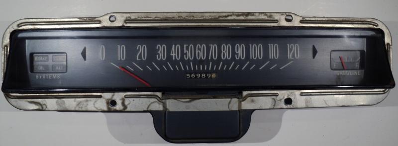 1969   Pontiac Bonneville    hastighetsmätare, tankmätare