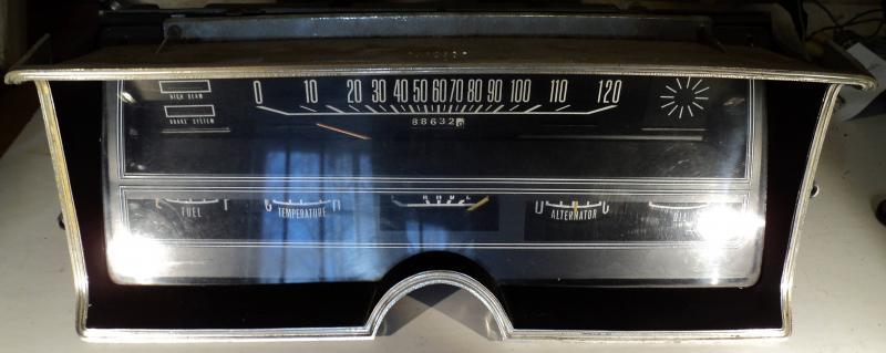 1968  Dodge Polara  instrumenthus