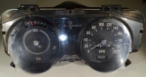 1969   Pontiac Tempest       instrumenthus  hastighetsmätare, tankmätare   (KMH) kilometer