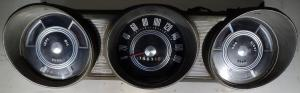 1963 Ford Fairlane   instrumenthus  hastighetsmätare, tankmätare, tempmätare
