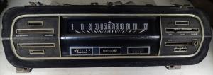 1968 Ford Falcon      instrumenthus  hastighetsmätare, tankmätare, värmereglage