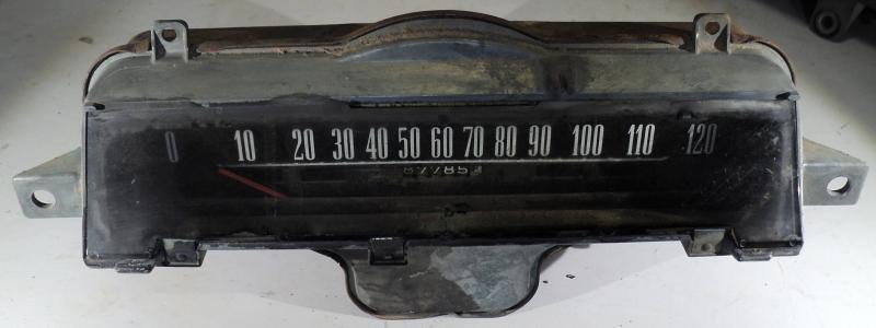 1961   Chevrolet      hastighetsmätare