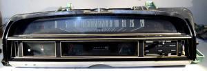 1971 Ford Ranchero instrumenthus hastighetsmätare, tankmätare, tempmätare, klocka, värmereglage