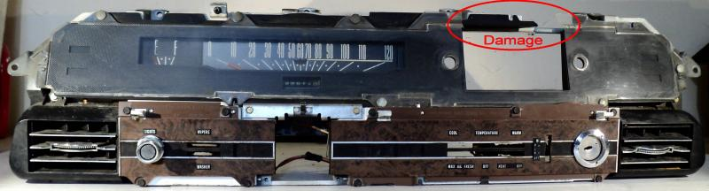 1968 Ford LTD  instrumenthus