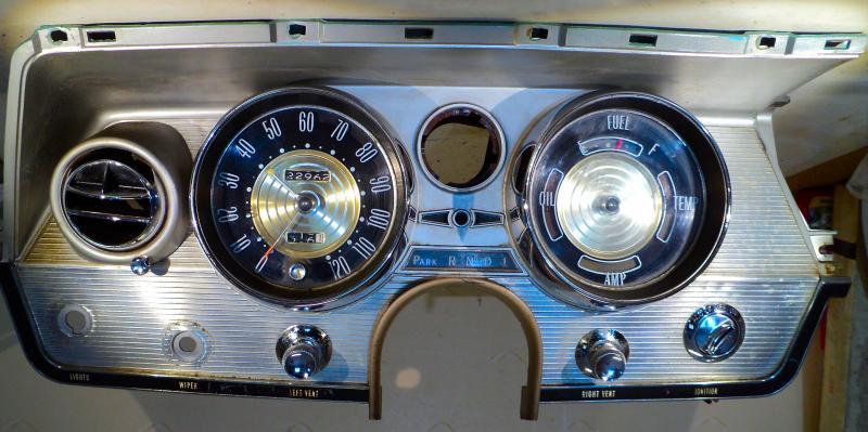1964   Buick Electra instrumenthus