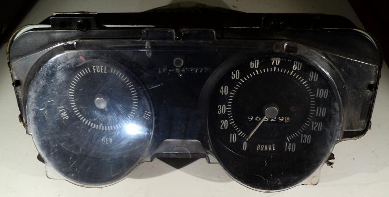 1969   Pontiac LeMans        hastighetsmätare