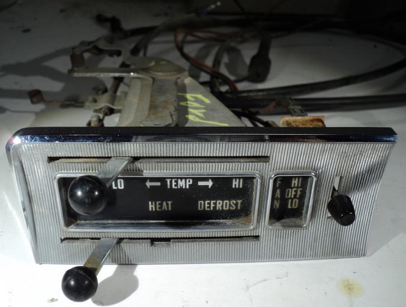 1957 Ford värmereglage  med wire