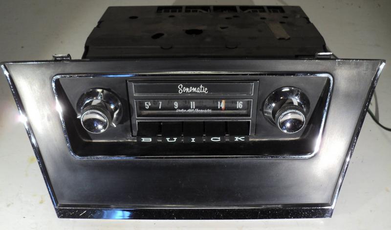 1964   Buick Electra        radio (ej testad)