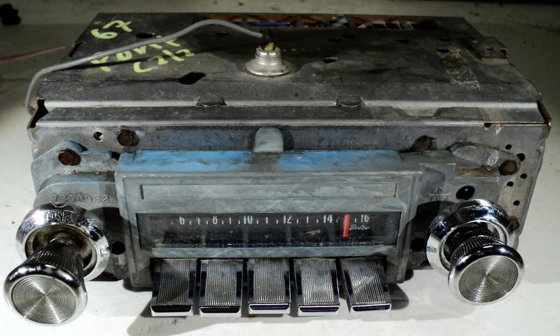 1967   Pontiac Catalina        radio (ej testad)