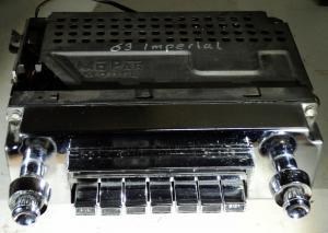 1963  Chrysler Imperial        radio (ej testad) Model 413
