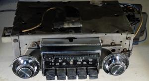 1969   Oldsmobile 98  radio Wonderbar AM – FM (ej testad)