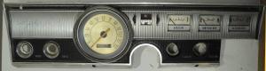 1965  Dodge Dart       instrumenthus hastighetsmätare, tankmätare, tempmätare, ampärmätare
