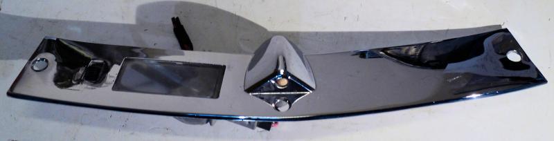 1957  Chrysler  krom på instrumentbrädan med belysning