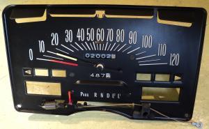 1972   Buick Electra      hastighetsmätare , växelindikator