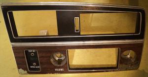 1972   Buick Electra    plastsargar instrumentbräda