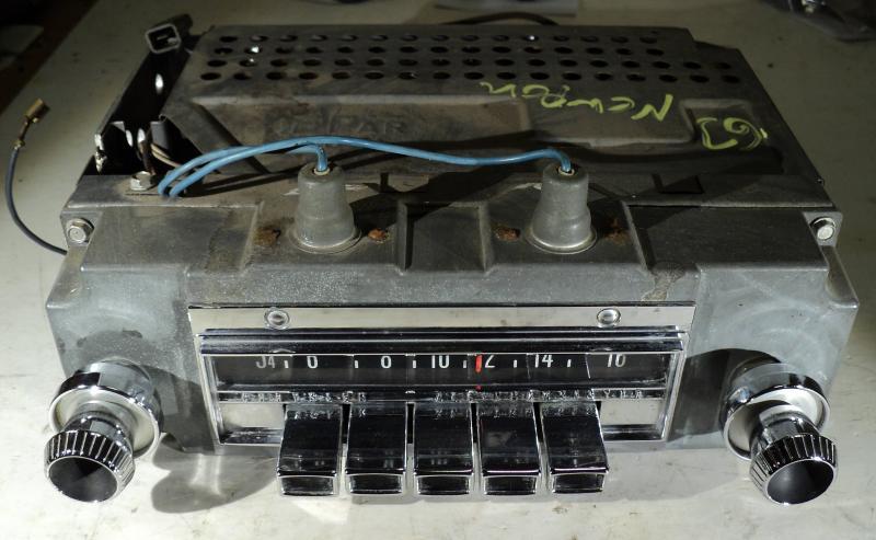 1963  Chrysler Newport        radio (ej testad)