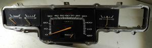 1967  Plymouth Fury  instrumenthus (nål till tankmätare defekt)