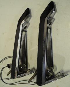 1962   Cadillac    backlampa  (utan glas fint krom)      höger och vänster