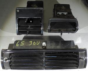 1965  Chrysler 300     utblås på instrument brädan