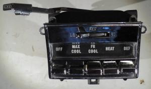 1965  Chrysler 300            värmereglage