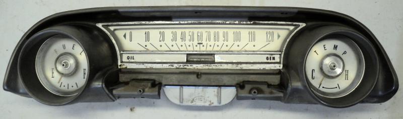 1964 Ford Galaxie  instrumenthus hastighetsmätare, tankmätare, tempmätare