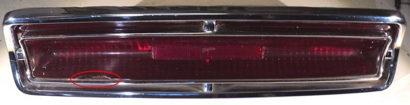 1964   Oldsmobile Jetstar    baklampa (skadat glas)        vänster