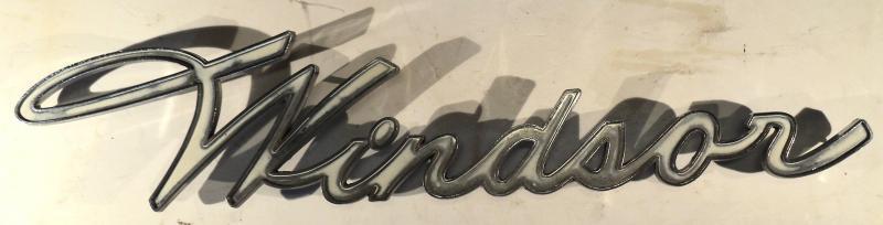 1957  Chrysler Windsor   emblem