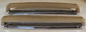 1966 Cadillac 2dr ht   inre handtag (28 cm långa 7587349)      (par)