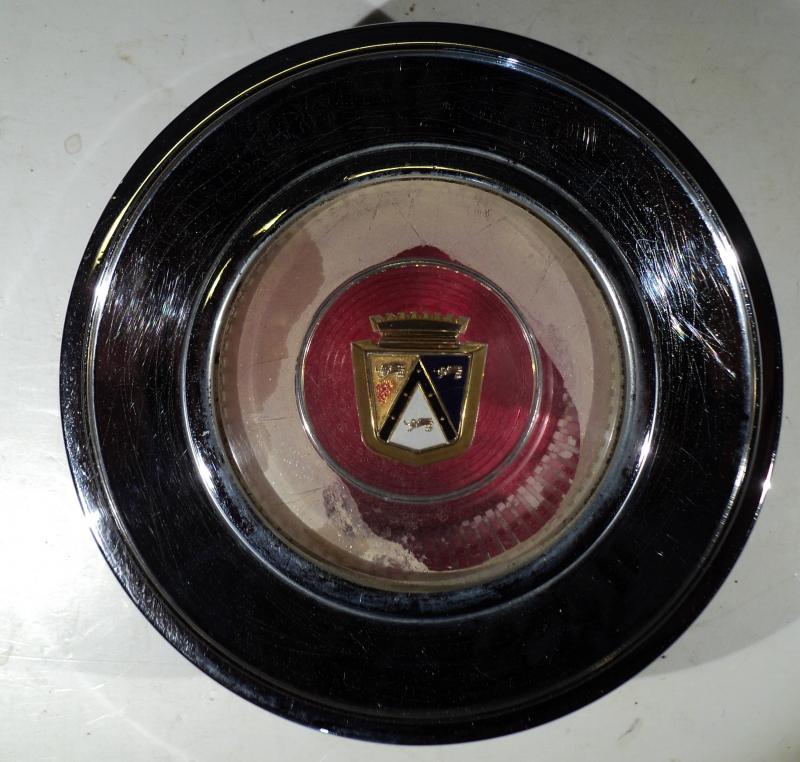 1962 Mercury Monterey  rattcentrum (smuts i emblem)