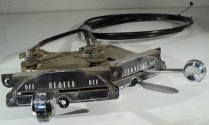 1957 Mercury   värmereglage /friskluftsreglage med wire