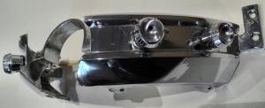1962 Chrysler  krom + knappar till instrumentbrädan