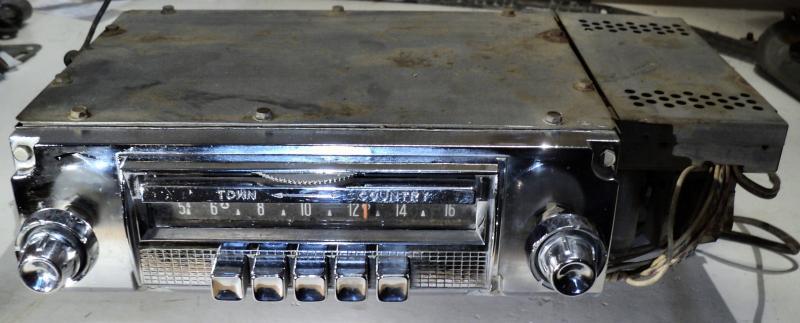 1956  Chrysler    radio (ej testad) Town Country