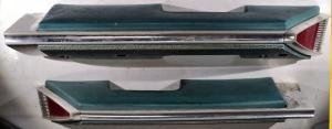1961   Oldsmobile 98  4dr sedan armstöd fram höger + vänster