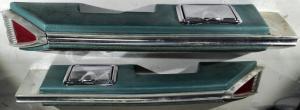 1961   Oldsmobile 98  4dr sedan armstöd bak höger + vänster