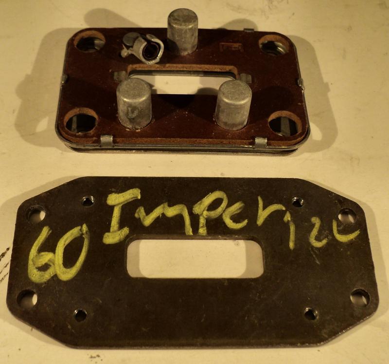 1960  Chrysler Imperial    signalhorns kontakt
