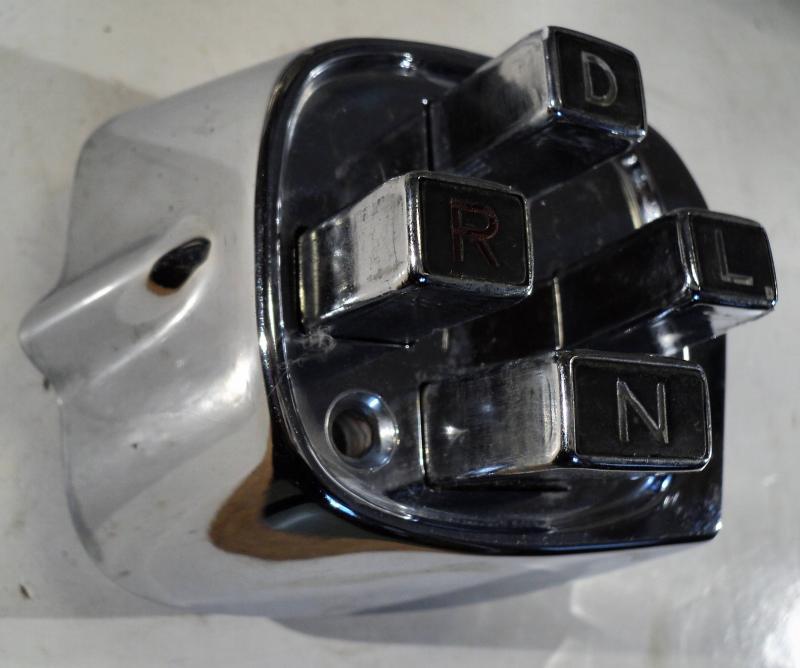1956  Chrysler     tryckknappar + krom
