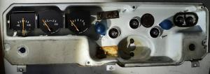 1972  Dodge Dart     instrumenthus tankmätare, ampärmätare, tempmätare