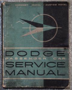 1957 Dodge verkstadshanbok