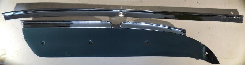 1963 Chrysler Newport  krom instrumentbrädan