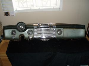 1951 Buick Roadmaster instrumentbräda