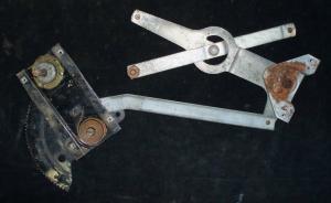 1953 Mercury 2dr ht fönster vevmekanism vänster