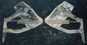 1955 Mercury huvgångjärn par