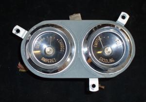 1955 Desoto ampere tankmätare