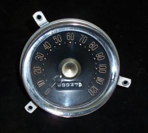 1955 Desoto hastighetsmätare