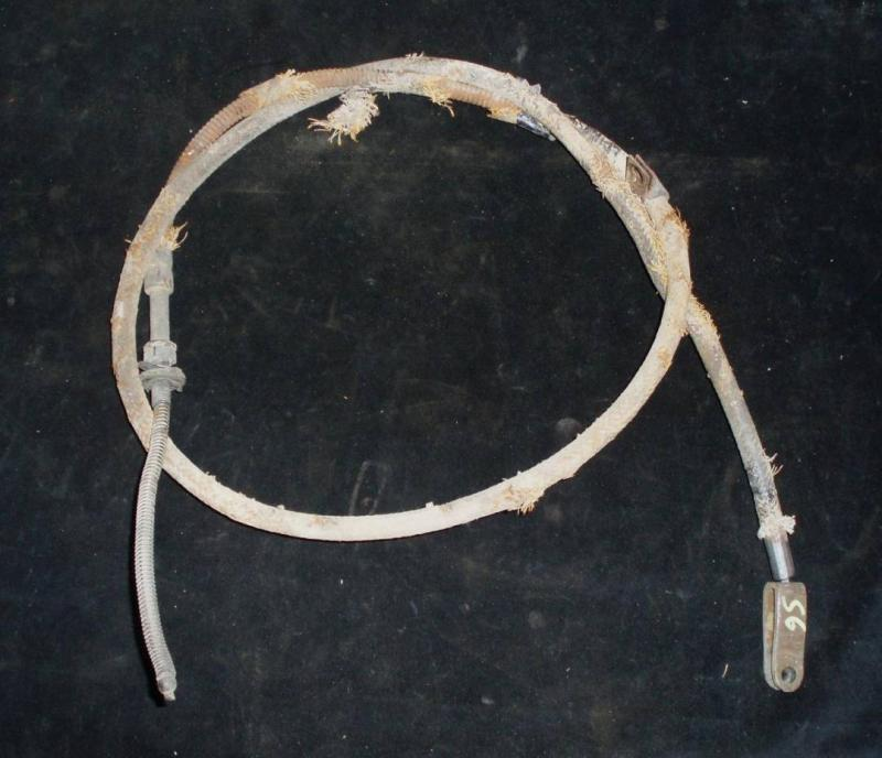 1956 Desoto handbromswire främre med powerflite