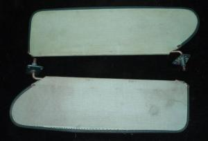 1956 Desoto solskydd (par)