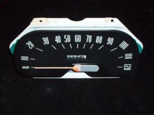 1957 Plymouth hastighetsmätare