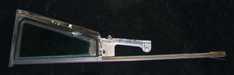 1957 Mercury 4dr ht ventilationsruta enhet höger