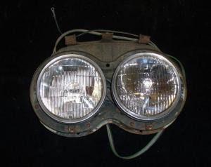 1958 Cadillac lamppotta höger
